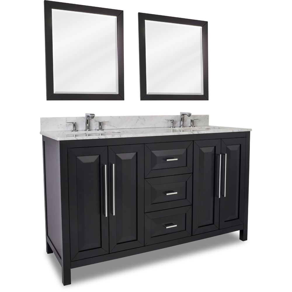 Ipax cabinets direct cade contempo black for Cabinets direct