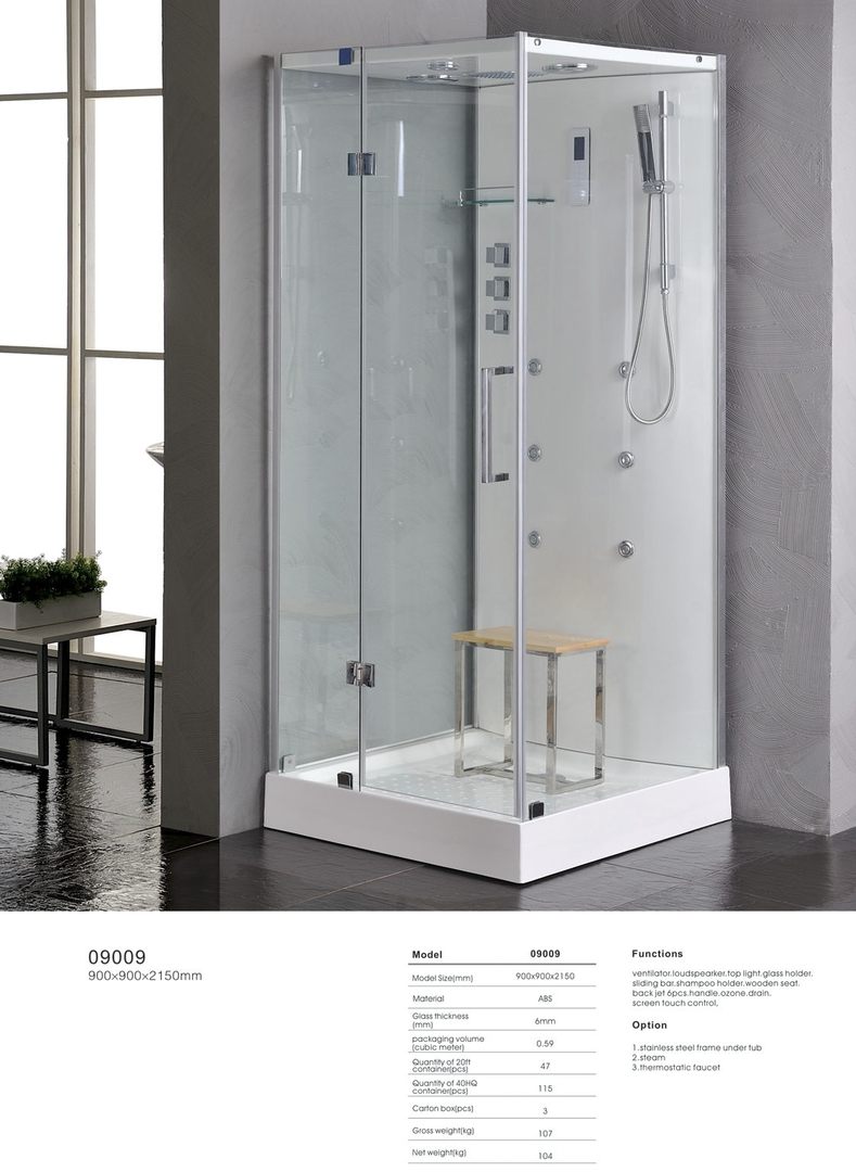 Ipax Cabinets Direct | Steam Shower 09009
